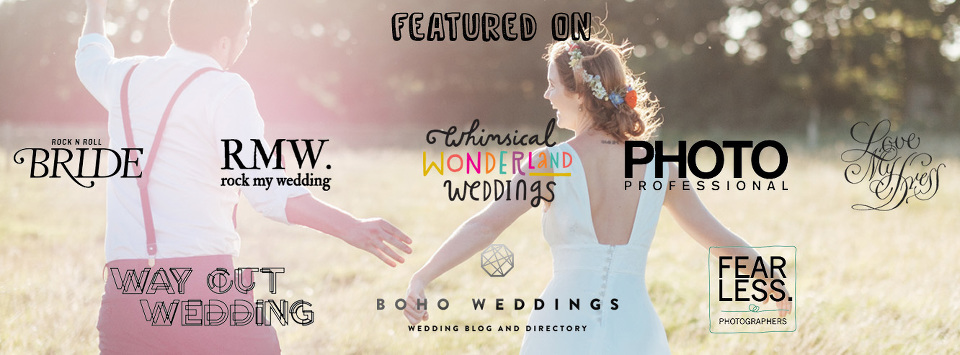 featured on wedding blogs