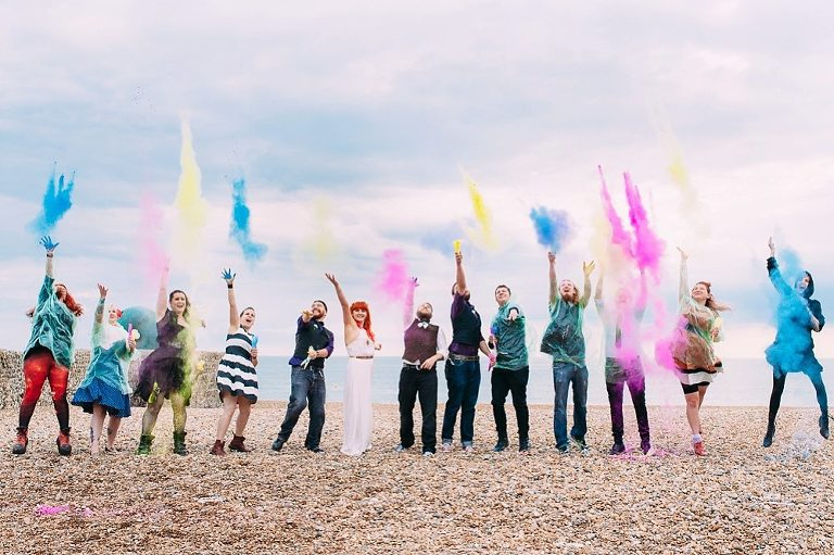 Powder paint wedding brighton wedding photographer-21